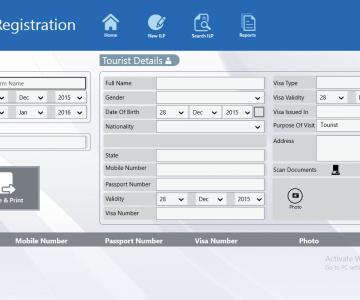 PTS desktop Metro App