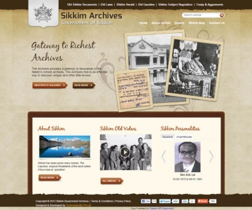 Sikkim Archives